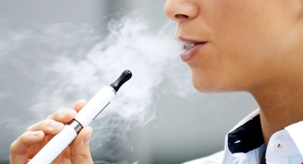 E cigarette just vapor
